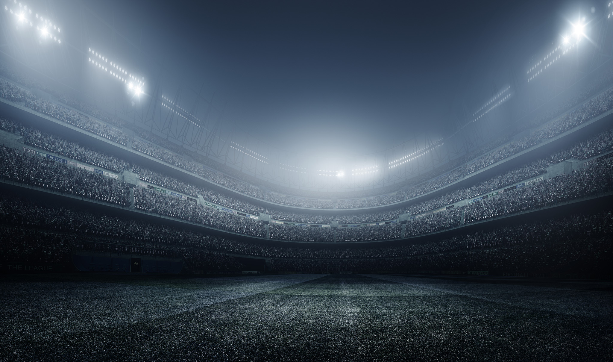 IFM - Football stadium background